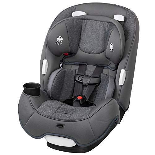 Safety 1st TrioFit 3-in-1 Convertible Car Seat, Sparkling Grey