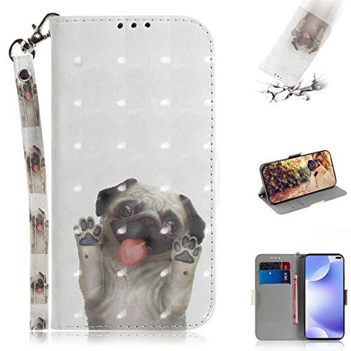 SATURCASE Xiaomi Pocophone X2 Hülle, 3D PU Lederhülle Ledertasche Magnetverschluss Brieftasche Kartenfächer Standfunktion Handschlaufe Schutzhülle Handy Tasche Hülle für Xiaomi Pocophone X2 (TD-12)