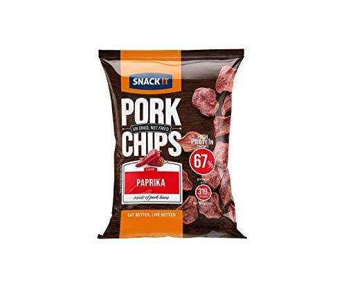 SNACK it Pork Chips Paprika, 25 g