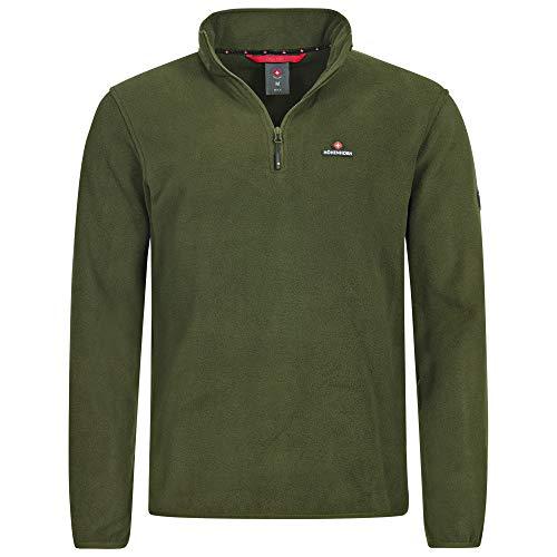 Höhenhorn Skyja - Sudadera de forro polar para hombre, verde, M