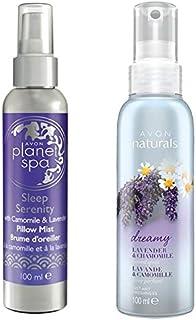 Spray Planet Spa de Avon para almohada con manzanilla y lavanda (100ml)