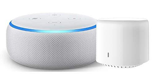 Echo Dot 第3世代 - スマートスピーカー with Alexa、プラム + シンプルスマートリモコン EZCON