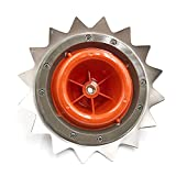 ZJJX Cabezal de corte de acero de alto carbono, cabezal de corte de doble uso, disco de corte con cuerdas de nailon