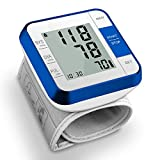 Blood Pressure Monitor, Wrist BP Monitors for Home, Accurate Automatic Heart Rate