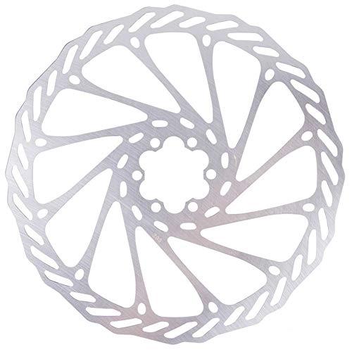 NINIWA Bicycle Brake Disc Bike Brake Disc Rotors Centre Lock Rotors Stainless Steel 203mm with 6 Bolts for Road Bike Mountain Bike MTB BMX