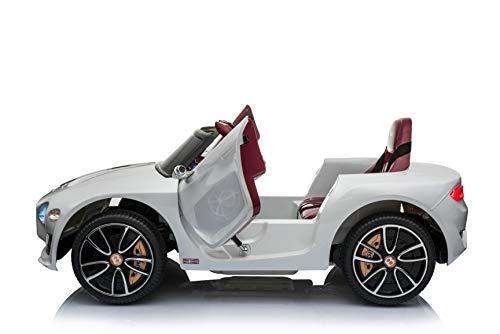 RC Auto kaufen Kinderauto Bild 2: Toyas Lizenz Bentley Kinder Elektrofahrzeug Kinderfahrzeug Kinderauto Elektroauto 2X 30W Motor Weiß*