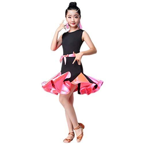 Vestito da Ballo Latino Danza Abbigliamento Abito Salsa Samba Tango Festa Prestazione Competizione Dancewear Principessa da Vestito