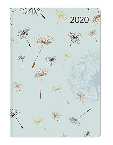 Ladytimer Mini Blowballs - Taschenkalender A7 - Kalender 2020 - Alpha Edition-Verlag - Eine Woche auf 2 Seiten - Buchplaner mit Lesebändchen und Platz für Notizen - Format 8 cm x 11,5 cm