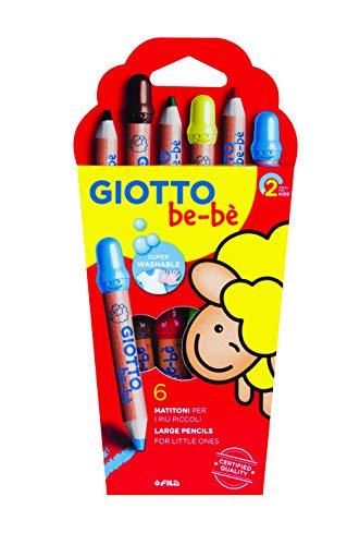 GIOTTO be-bè 4664 00 - Super Buntstifte, farbig sortiert