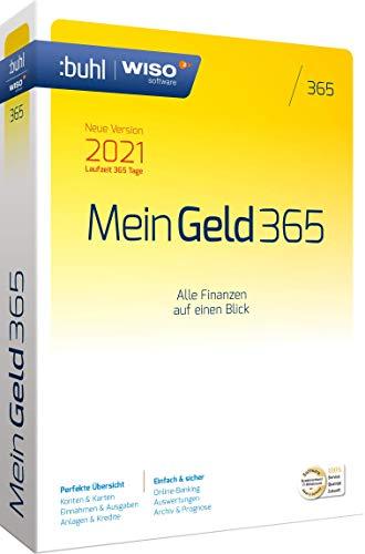 WISO Mein Geld 365 (aktuelle Version 2021)|1 Gerät|1 Jahr|PC (WISO Software)