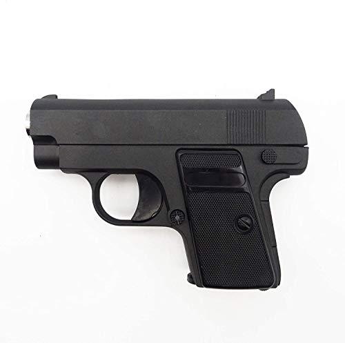 Oramics Softair Pistole – Mini Airsoft unter 0,5 Joule – Vollmetall Softair-Pistole G9 ABS – Originalgetreuer Nachbau im Maßstab 1:2, Kaliber: 6mm