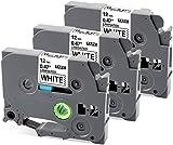 MarkField Kompatible Schriftband Ersatz für Brother P-Touch TZ TZe-231 12mm Etikettenband PT-1000...
