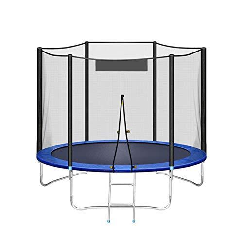sunyu Cama elástica de jardín, Exterior con Mucho Espacio y Elementos de Seguridad, Capacidad de Carga : 300-350 kg, Set Completo8FT