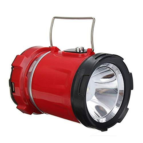 Luce Da Campeggio Dc 5W Lampada A Torcia Pieghevole A Energia Solare Portatile Ricaricabile A Led A Luce Regolabile Per Tende Da Campeggio