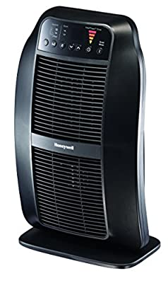 Honeywell Genius HeatGenius Ceramic Heater with Multi-Directional Heating, Digital Controls with Programmable Thermostat, Black