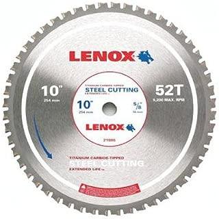 American Saw & Mfg 21886ST100052CT Metal-Cutting Circular Saw Blade, 10-In. x 52TPI - Quantity 5