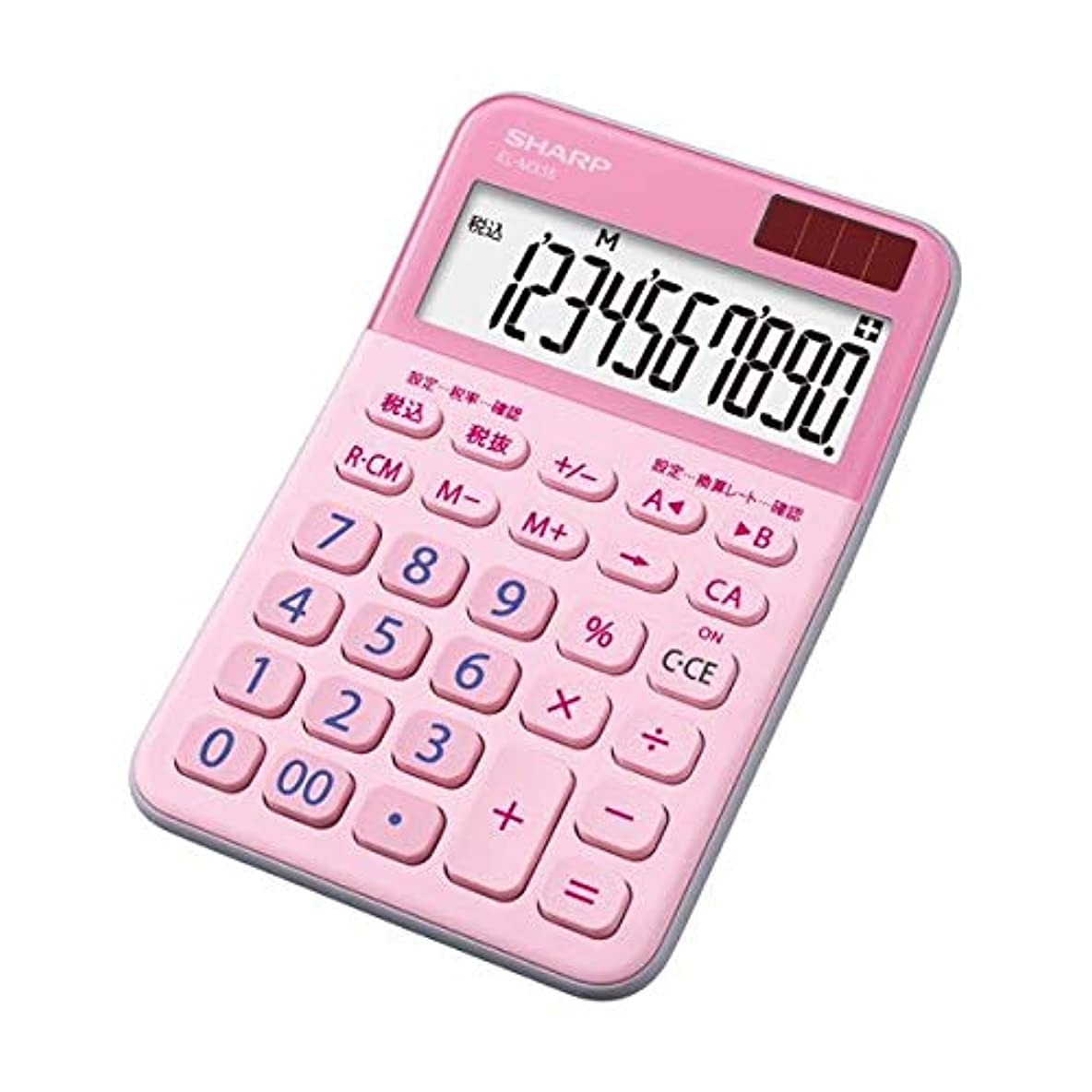 (まとめ)シャープ カラー デザイン電卓 10桁ミニナイスサイズ ピンク EL-M335-PX 1台【×5セット】 生活用品 インテリア 雑貨 文具 オフィス用品 電卓 14067381 [並行輸入品]