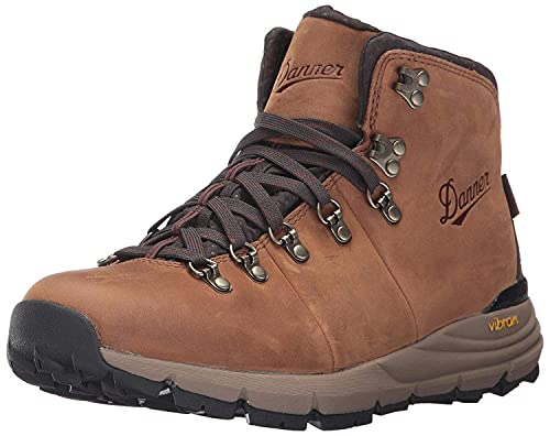 Danner mens Mountain 600 Full Grain Hiking Boot, Rich Brown - Full Grain, 8 US