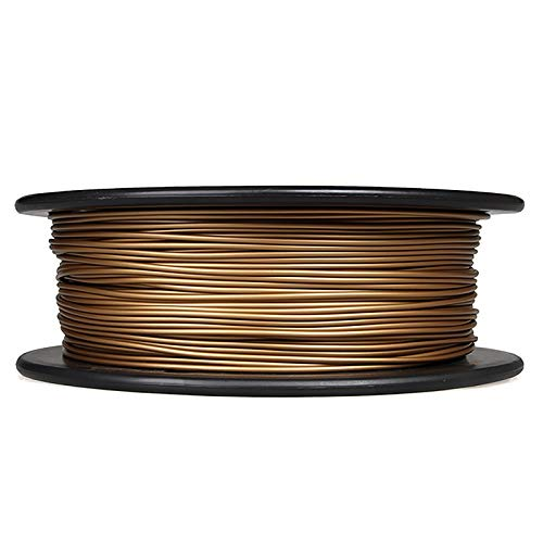 Metall-PLA-Filament 3D-Druckfilament 0,5 Kg, Messing-PLA-leitfähiges Filament 0,5 Kg, 1,75 Mm / 3,0 Mm Optional (Größe: 1,75 Mm)(Color:Brass 3.0)