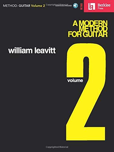 Leavitt Modern Method For Guitar Volume 2 Bk/Cd: Lehrmaterial, CD für Gitarre