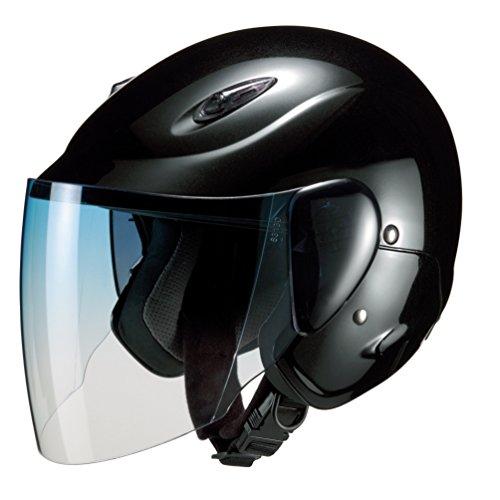マルシン(MARUSHIN) バイクヘルメット セミジェット M-510 ブラック フリーサイズ(57~~60CM)
