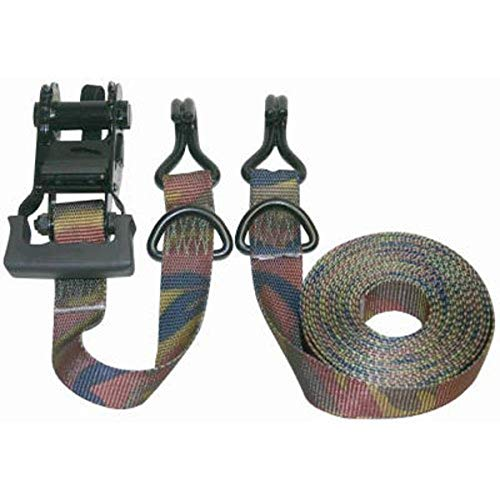 Keeper 03548 Pro Grade Camouflage 16' x 1-1/4' Ratchet Tie-Down, 2 Pack