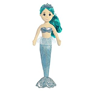 Aurora World Sea Sparkles Mermaid Plush, Mala - 41 7TtYyq1L - Aurora World Sea Sparkles Mermaid Plush, Mala
