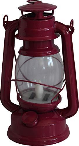LED Solarleuchte Gartenleuchte Partyleuchte Laterne Rola rot Solarleuchte Öllampe Dekolampe LED gelb flackernd