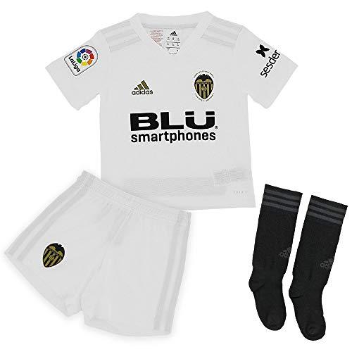 Adidas Valencia CF Primera Equipación Niño 2018-2019, Conjunto, White-Crystal White, Talla 104