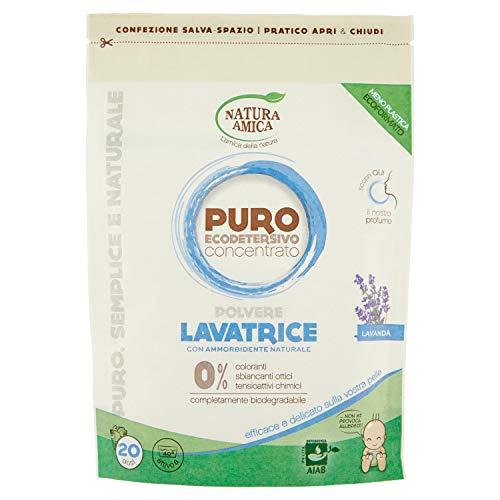 NATURA AMICA lavage détergent poudre pure de lavande naturel 250 gr.