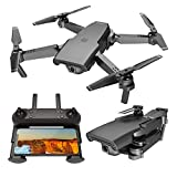 Drone 4K with FPV Camera Live Video,Foldable Drone for Adults,RC Quadcopter for Beginners,with Auto Return Home, Follow Me,Dual Cameras,Long Control Range
