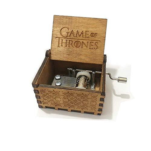 XIN-JI Carillon in Legno Puro di Hand of Game Thrones. Carillon in Legno in Legno Creativo