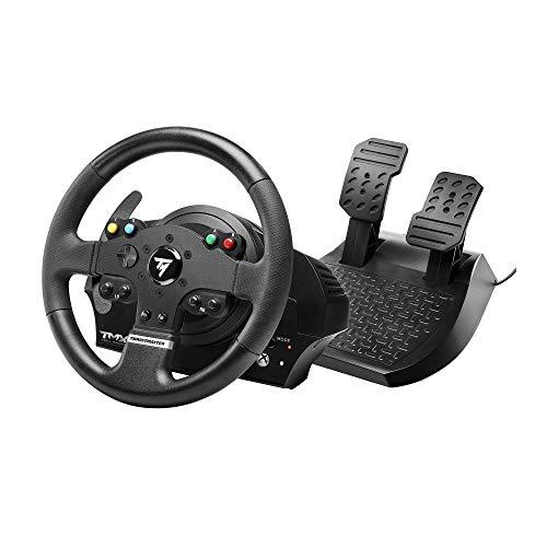 Thrustmaster TMX volante de carreras ergonómico con un juego de 2 pedales - Compatible con Xbox One y PC. Funciona en Xbox Series X