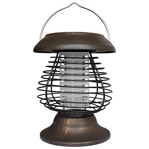 YWLINK Solarbetriebene Wasserdicht LED-Lampe Outdoor Bug Zapper Moskito-MöRder Garten Aussetzung Insekt Repeller-Licht