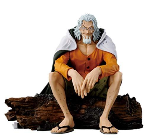 Yangzou - Figura de PVC de 15 cm, diseño de One Piece Silvers Rayleigh