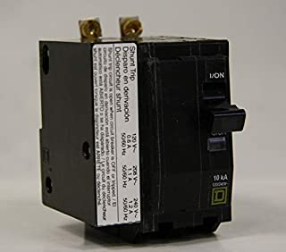 Square D 2 pole Bolt-On Circuit Breaker, 20 Amp, qob2201021 with shunt trip