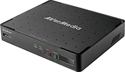 AVerMedia EZRecorderAVerMedia EZRecorder 310 - HD-Videoaufnahme, HDMI-Recorder, PVR, DVR, Zeitplanaufzeichnung, IR-Blaster, Bearbeiten ohne PC, Einfache Installation (ER310)