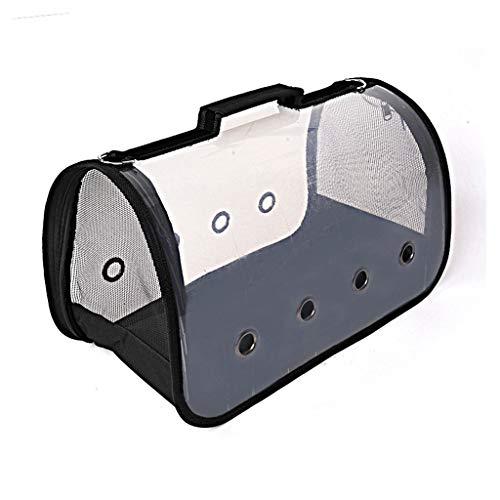 XL- Zaino per Animali Domestici Portatile Traspirante plastica panoramico Zaino per Cani