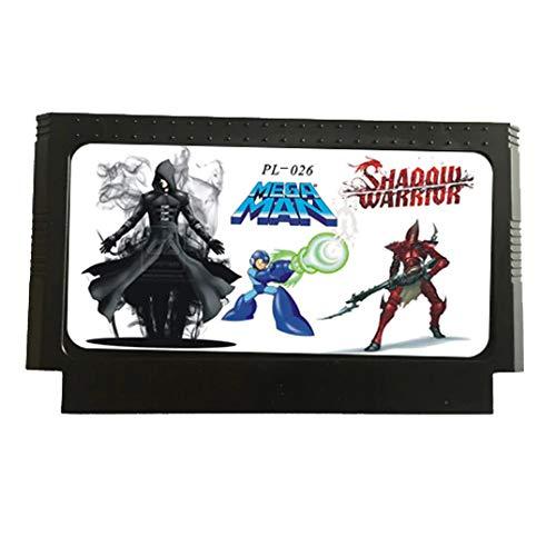 Jhana 9 en 1 con Shadow Warrior 1/2/3, Mega Man 1/2/3/4/5/6 Cartucho...