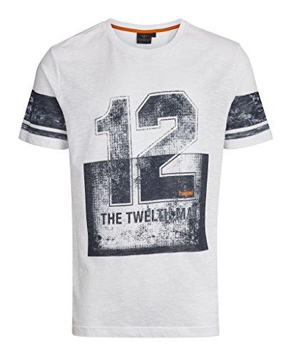 hummel Mehdi SS T-Shirt pour Homme L Blanc - Blanc