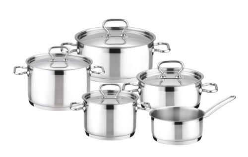Tescoma BATERIA DE Cocina 9 PZ Home Profi, Plateado, 9 Piezas