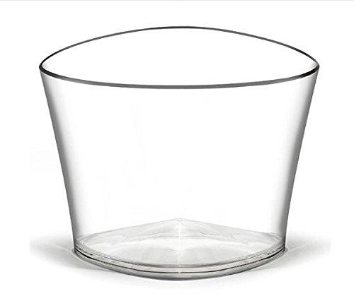 Refroidisseur à vin Seau à Champagne doimo Flair Alpha Bowl 4 Bouteilles en Plastique/Seau à Champagne/Seau à Vin/Champagne/à Punch/Transparent/pour 4 Bouteilles