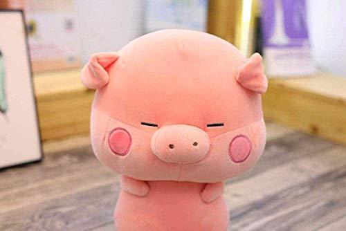 DINGX Plüschtier-Spielzeug 33 cm Plüschspielwaren Nette Schwein Gefüllte Schwein Puppe Chinesische Tierkreis Weiche Schöne Tiere Kissen Für Kinder Kinder Mädchen Geburtstagsgeschenke Chuangze