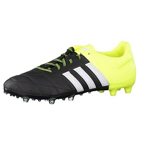 Adidas ACE 15.2 FG/AG Leather DGSOGR/DKGREY - 12