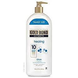 top 10 gold bond face Gold Bond Ultimate Healing Skin Therapy Lotion, Aloe, Family, 20 oz.