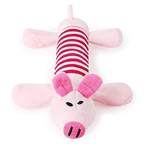 DINGX Hund Plüschtiere Squeake niedliche Haustier Hund Katze Sound Spielzeug Lustige Fleece Durable Kau Molar Spielzeug Fit Für alle Haustiere Elefanten Chuangze
