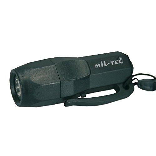 Mini lampe LED survie vert armée - Miltec
