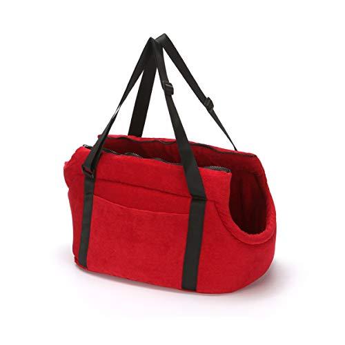 PETCUTE Hundetasche Hundetragetaschen für kleine mittlere Hunde Katzentragetasche Hundetransporttasche