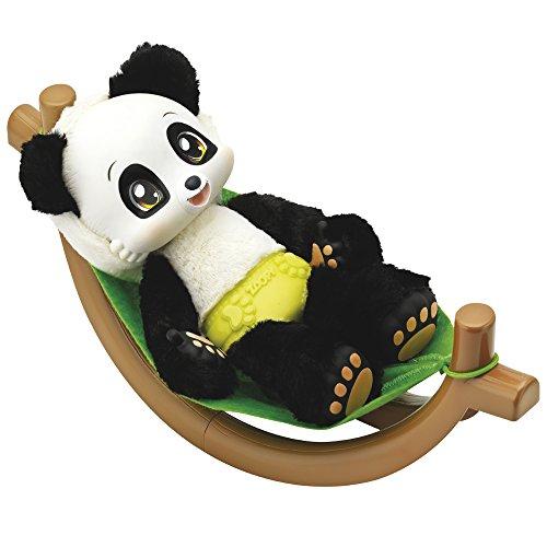 Zuru - ZOOPY Baby Panda con hamaca, brilla en la oscuridad y