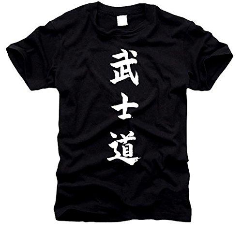 Bushido – Le chemin du guerrier – T-shirt Taille S